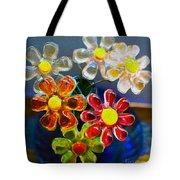 Flower Power Still Life Tote Bag