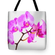 Flower Purple Orchid  Tote Bag