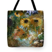 Flower Rain Tote Bag