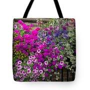 Flower Riot Tote Bag