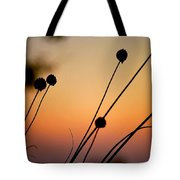 Flower Silhouettes I Tote Bag