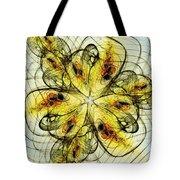 Flower Sketch Tote Bag