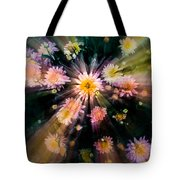 Flower Song On Fairy Wing Tote Bag