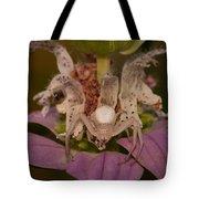 Flower Spider On Horsemint #2 Tote Bag