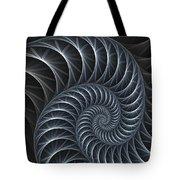 Flower Spiral Tote Bag