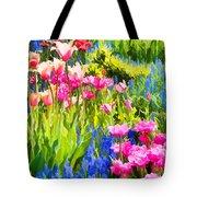 Flower Splash II Tote Bag