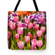 Flower Splash IIi Tote Bag