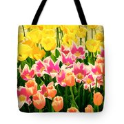 Flower Splash Ix Tote Bag