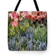 Flower Splash Viii Tote Bag
