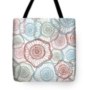 Flower Squiggle Tote Bag