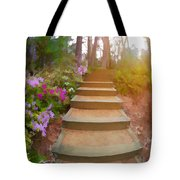 Flower Steps Tote Bag