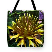 Flower - Sultry Dahlia - Luther Fine Art Tote Bag
