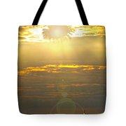 Flower Sun Tote Bag