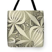 Flower Swirl Tote Bag
