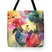 Flower Symphony 03 Tote Bag