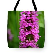 Flower Tower Tall Tote Bag