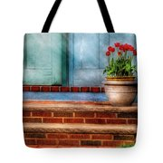 Flower - Tulip - A Pot Of Tulips Tote Bag
