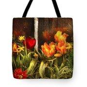 Flower - Tulip - Tulips In A Window Tote Bag