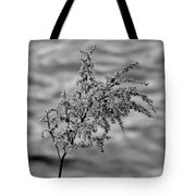 Flower Weed Tote Bag
