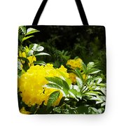 Flower - Austin Botanical Gardens -  Luther Fine Art Tote Bag