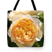 Flower-yellow Roses Tote Bag