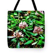 Flowered Tree Tote Bag