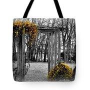 Flowering Archway Tote Bag