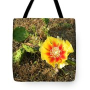 Flowering Cactus Tote Bag