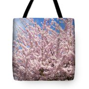 Flowering Cherry Tree Tote Bag