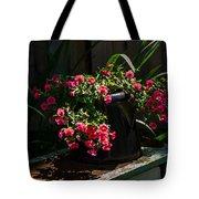 Flowering Coffee Pot Tote Bag