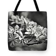 Flowering Crabapple 2 Bw Tote Bag
