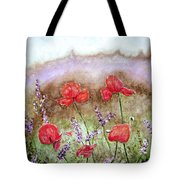 Flowering Field Tote Bag
