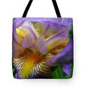Flowering Iris Tote Bag