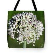 Flowering Leek - Topaz Clarity Demo Tote Bag