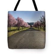 Flowering Plum Trees Tote Bag