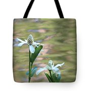 Flowering Pond Plant Tote Bag