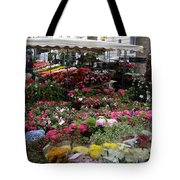 Flowermarket - Tours Tote Bag