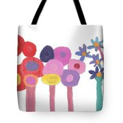 Flowers 1 Tote Bag by Don Larison