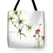 Flowers 1950 Tote Bag
