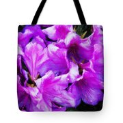 Flowers 2078 Acanthus Tote Bag