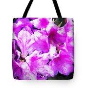 Flowers 2078 Oil Hp Tote Bag