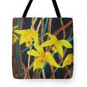 Flowers A Flame Tote Bag