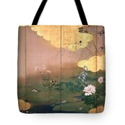 Flowers And Birds Of The Four Seasons Tote Bag