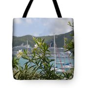 Flowers And Freedom Tote Bag