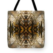 Flowers And Trees Tote Bag