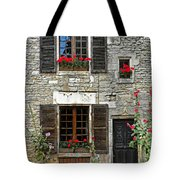 Flowers And Windows Tote Bag