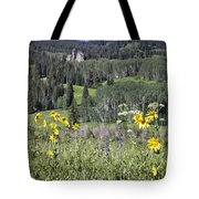 Flowers At Crested Butte Tote Bag