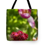 Flowers At Dallas Arboretum V14 Tote Bag