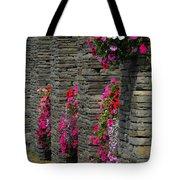 Flowers At Liscannor Rock Shop Tote Bag