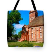 Flowers At The Tabernacle Tote Bag